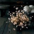 Sirius - Crystal - świecąca dekoracja - 60 energooszczędnych światełek