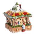 Villeroy & Boch - Nostalgic Christmas Market - lampion - stoisko z zabawkami - wymiary: 12 x 12 x 15,5 cm