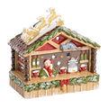 Villeroy & Boch - Nostalgic Christmas Market - lampion - stoisko z grzanym winem - wymiary: 15 x 8,5 x 15 cm