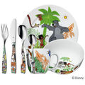 WMF - Księga Dżungli - zestaw naczyń dla dzieci + sztućce - 7 elementów