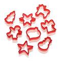 Lurch - 8 foremek do ciasteczek - świąteczne wzory