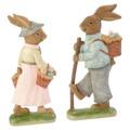 Villeroy & Boch - Easter 2018 - 2 figurki zajączków - wysokość: 30 cm