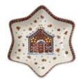 Villeroy & Boch - Winter Bakery Delight - miska gwiazdka - szerokość: 24,5 cm