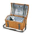 Cilio - Garda - kosz piknikowy z wyposażeniem dla 4 osób - wymiary: 47 x 31 x 25 cm