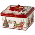 Villeroy & Boch - Christmas Toys - porcelanowe pudełko - wysokość: 13 cm