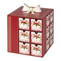 Villeroy & Boch - Christmas Toys Memory - kalendarz adwentowy - wymiary: 21 x 21 x 22 cm