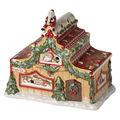 Villeroy & Boch - North Pole Express - lampion - domek Mikołaja - wymiary: 18 x 10 x 16,5 cm