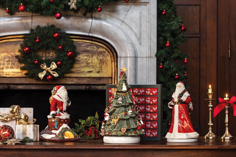 kalendarze adwentowe porcelanowe miniaturki Villeroy & Boch na każdy dzień adwentu