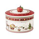 Villeroy & Boch - Winter Bakery Delight - duże pudełko na ciastka - wymiary: 13 x 17 cm