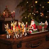 Villeroy & Boch - Christmas Toys Memory - sanie św. Mikołaja - świecznik i pozytywka