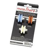 MinoSharp - zestaw 3 krążków ostrzących - do wodnych ostrzałek ceramicznych PLUS 3