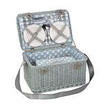 Cilio - Paradiso - kosz piknikowy z wyposażeniem dla 4 osób - wymiary: 45 x 30 x 24,5 cm