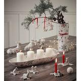 Villeroy & Boch - NewModern Christmas - jeleń na płatku śniegu