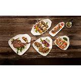 Villeroy & Boch - BBQ Passion - zestaw 2 talerzy na kiełbaski