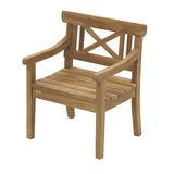 Skagerak - Drachmann - krzesło ogrodowe - wymiary: 73 x 58 x 86 cm