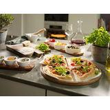 Villeroy & Boch - Pizza Passion - 4 talerze do pizzy na podstawce