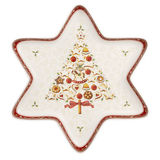 Villeroy & Boch - Winter Bakery Delight - misa gwiazda - wymiary: 37,5 x 33 cm