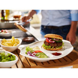 Villeroy & Boch - BBQ Passion - zestaw 2 talerzy na hamburgera