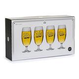 Sagaform - Club - 4 szklanki do piwa - pojemność: 420 ml