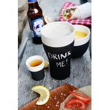 Magisso - ceramika chłodząca - 2 kubki do piwa