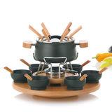 Kela - Natura - zestaw do fondue - pojemność: 1,8 l