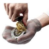 Küchenprofi - O'Safe - stalowa rękawica do otwierania ostryg