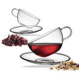 Küchenprofi - Assam - 2 szklanki ze spodkami