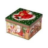 Villeroy & Boch - Christmas Toys - porcelanowe pudełko - wymiary: 16 x 16 x 12 cm