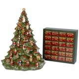 Villeroy & Boch - Christmas Toys Memory - kalendarz adwentowy - choinka - 26 elementów