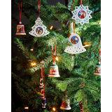 Villeroy & Boch - My Christmas Tree - potrójna zawieszka - Mikołaje