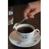 Villeroy & Boch - Pansy Blue - filiżanka do kawy ze spodkiem
