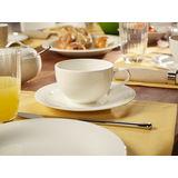 Villeroy & Boch - New Cottage Basic - filiżanka śniadaniowa ze spodkiem
