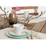 Villeroy & Boch - Caffé Club Floral Touch of Hazel - spodek pod filiżankę do białej kawy