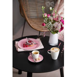 Villeroy & Boch - Caffé Club Floral Touch of Rose - spodek pod filiżankę do kawy