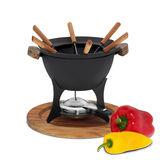 Kela - Country - zestaw do fondue - pojemność: 1,0 l
