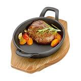 Küchenprofi - żeliwna patelnia do serwowania