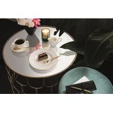Villeroy & Boch - Anmut Gold - filiżanka do kawy ze spodkiem