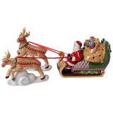 Villeroy & Boch - Christmas Toys - lampion - sanie Mikołaja - wymiary: 36 x 14 x 17 cm