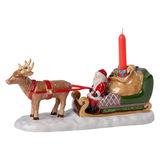 Villeroy & Boch - North Pole Express - świecznik - sanie Mikołaja - wymiary: 23 x 9 x 11 cm