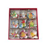Dexam - zestaw mini-wykrawaczy do ciastek - Boże Narodzenie - 9 elementów
