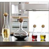 Sagaform - Nature - karafka do wina z dębowym korkiem