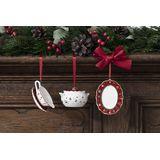 Villeroy & Boch - Toy's Delight Decoration - 3 zawieszki - naczynia do serwowania