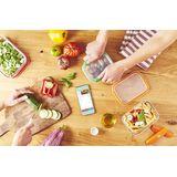 Mastrad - Stor'eat - zestaw 4 pojemników na żywność