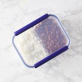 Mastrad - Stor'eat - dwukomorowe pojemniki na żywność
