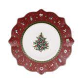 Villeroy & Boch - Toy's Delight - talerz sałatkowy czerwony - średnica: 24 cm