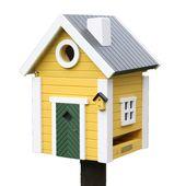 Wildlife Garden - karmnik i domek dla ptaków - wymiary: 18,4 x 19,2 x 24,7 cm