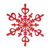 Koziol - Flake - wisząca dekoracja - średnica: 34 cm