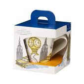 Villeroy & Boch - New Wave Caffe New York - duży kubek w opakowaniu prezentowym - pojemność: 0,35 l