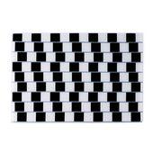 PO: - Ring - szklana podkładka Illusion - wymiary: 42 x 29,5 cm