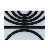PO: - Ring - szklana podkładka Sonar - wymiary: 42 x 29,5 cm